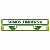 Portland Timbers Ruffneck Somos Timbers Scarf - Green/White