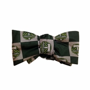 Portland Timbers Silk Woven Bow Tie - Green/Silver