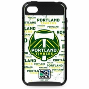 Portland Timbers Skinit iPhone 4/4S Blast Case - White - FINAL SALE