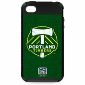 Portland Timbers Skinit iPhone 4/4S Solid Distress Case - Green - FINAL SALE