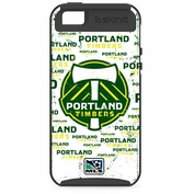 Portland Timbers Skinit iPhone 5 Blast Case - White - FINAL SALE