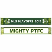 Portland Timbers Sports Scarf Mighty PTFC 2013 Playoffs Scarf - Green