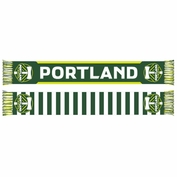 Portland Timbers Sports Scarf Primary Stripes Scarf - Green