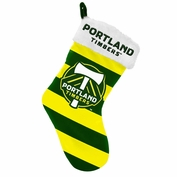 Portland Timbers Striped Stocking - Green