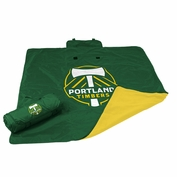 Portland Timbers Water Resistant 50x60 Blanket - Green