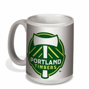 Portland Timbers Wincraft 15oz. Primary Logo Ceramic Coffee Mug - White