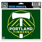 Portland Timbers Wincraft 3x4 Primary Logo Ultra Decal - Green