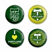 Portland Timbers WinCraft 4-Button Pack