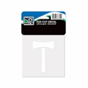 Portland Timbers Wincraft 4x4 Axe Decal - White
