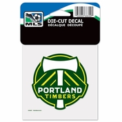 Portland Timbers Wincraft 4x4 Die Cut Decal