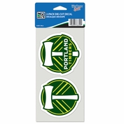Portland Timbers Wincraft 4x4 Die Cut Decal Set