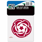Portland Timbers Wincraft 4x4 Rose Ball Die Cut Decal