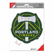 Portland Timbers WinCraft 5x7 Shimmer Decal