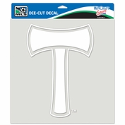Portland Timbers Wincraft 8x8 Axe Decal - White