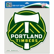 Portland Timbers Wincraft 8x8 Die Cut Decal