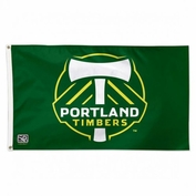 Portland Timbers WinCraft Deluxe 3'x5' Flag - Green