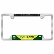 Portland Timbers Wincraft Metal License Plate Frame