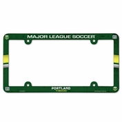 Portland Timbers Wincraft Plastic License Plate Frame - Green