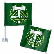 Portland Timbers Wincraft Primary Car Flag - Green