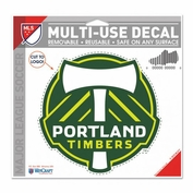 Portland Timbers WinCraft Primary Logo Multi-Use Decal - Clear