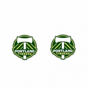 Portland Timbers WinCraft Primary Logo Post Earrings