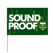 Portland Timbers WinCraft 'Sound Proof' Stick Flag - Green