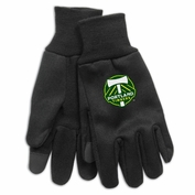 Portland Timbers WinCraft Tech Gloves - Black