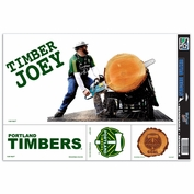 Portland Timbers Wincraft Timber Joey Ultra Decals