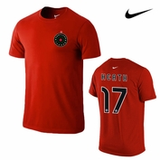 Portland Thorns FC Nike Tobin Heath #17 Hero Tee - Red
