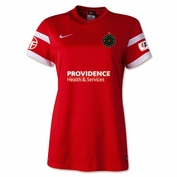 Portland Thorns FC Nike 2014 Women's Authentic Home Jersey - Red <br><b><i>Choose a player or Personalize your jersey!</i></b>