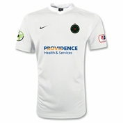 Portland Thorns FC Nike 2014 Adult Authentic Away Jersey - White - FINAL SALE <br><b><i>Choose a player or Personalize your jersey!</i></b>