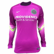 Portland Thorns FC Nike Women's Goalkeeper Long Sleeve Jersey - Purple <br><b><i>Choose a player or Personalize your jersey!</i></b>
