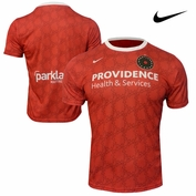 <b><i>Pre-Order: Ships May 15th</i></b> - Portland Thorns FC Nike Dri-FIT 2015 Home Jersey - Red <br><b><i>Choose a player or Personalize your jersey!</i></b>