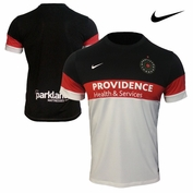 <b><i>Preorder: Ships August 10th</i></b> - Portland Thorns FC Nike Dri-FIT 2015 Away Jersey - Red/Black/White <br><b><i>Choose a player or Personalize your jersey!</i></b>