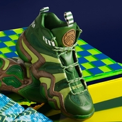 <b><i>Limited Edition</i></b> - Portland Timbers adidas Crazy 8 Men's Basketball Shoes - Ponderosa/Moss/Brown