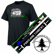 Portland Timbers Oregon Trail Scarf & Grave Tee Bundle - Black - FINAL SALE