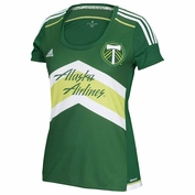 Portland Timbers adidas 2015 Women's Replica Short Sleeve Primary Jersey - Green - <b>Pre-Order: Shipments begin March 5th</b><br><b><i>Choose a player or Personalize your jersey!</i></b>