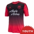 Portland Timbers adidas 2014 Youth Replica Short Sleeve Secondary Jersey - Red/Black<br><b><i>Choose a player or Personalize your jersey!</i></b>