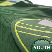 Portland Timbers adidas 2015 Youth Replica Short Sleeve Primary Jersey - Green - <b>Pre-Order: Shipments begin March 5th</b><br><b><i>Choose a player or Personalize your jersey!</i></b>