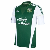 Portland Timbers adidas 2013-2014 Replica Short Sleeve Primary Jersey - Green <br><b><i>Choose a player or Personalize your jersey!</i></b>