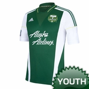 Portland Timbers adidas Youth 2013-2014 Replica Primary Jersey - Green <br><b><i>Choose a player or Personalize your jersey!</i></b>