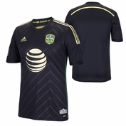 adidas adizero&reg 2014 MLS All-Star Game Authentic Short Sleeve Jersey - Black