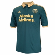 Portland Timbers adidas 2014 Replica Short Sleeve Third Jersey - Green<br><b><i>Choose a player or Personalize your jersey!</i></b>