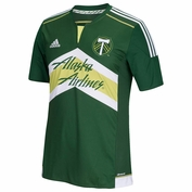 Portland Timbers adidas 2015 Replica Short Sleeve Primary Jersey - Green <br><b><i>Choose a player or Personalize your jersey!</i></b>