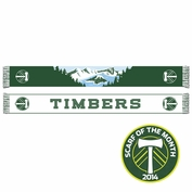 Portland Timbers Ruffneck Crater Lake Scarf - Green <br><b><i>Exclusive Scarf of the Month: October 2014</i></b>