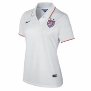 U.S. National Team Nike Dri-FIT Women's Home Jersey - White