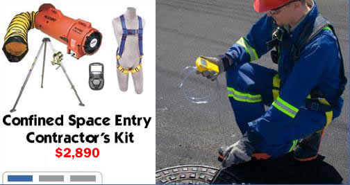 Confined Space Contractors Entry Kit