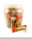 Delicias Jalisco, Guava Mini Roll. Jar of 24 Pcs