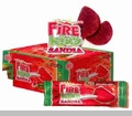 Dulces Karla, Fire Kids Sandia (Watermelon). 24 Pcs