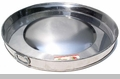 "Large Stainless Steel Round Cooking Disk ""Comal"""